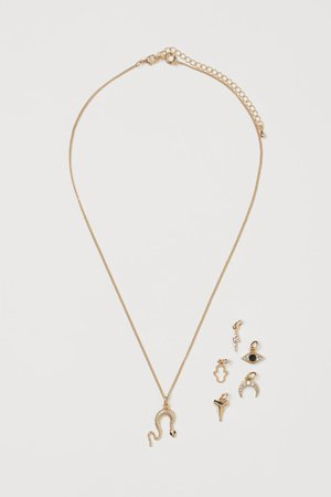 Pendant Necklace - Gold-colored - Ladies | H&M US