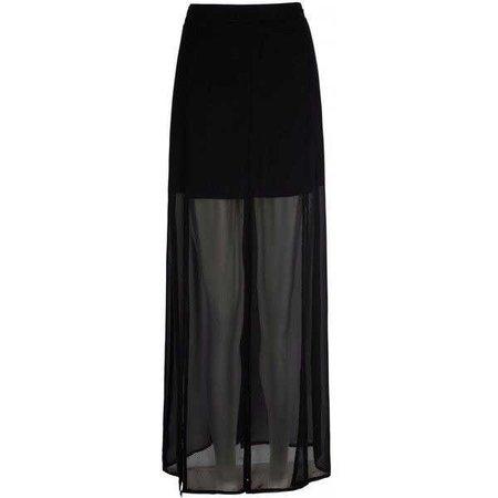 Mela Loves London High Low Split Maxi Skirt ($38)