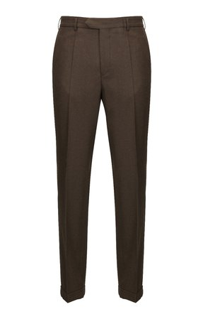 Mens Wool Flannel Trousers - House of Bruar