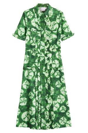Batik Print Shirt Dress Gr. IT 44