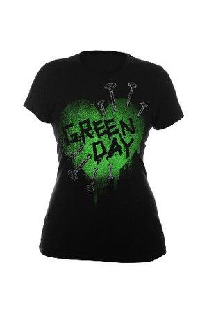 Green Day Band Shirt