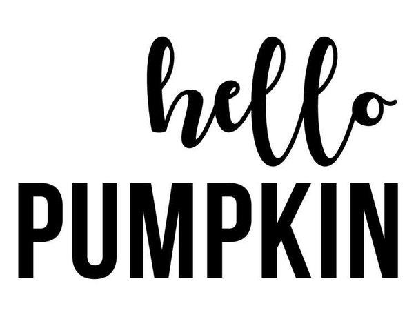 pumpkin text