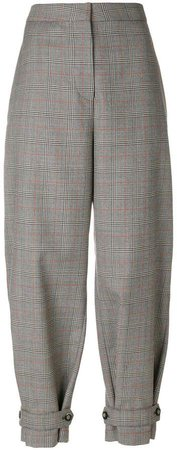 Lexi Prince of Wales checked trousers