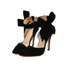 Bow Black Pumps 2