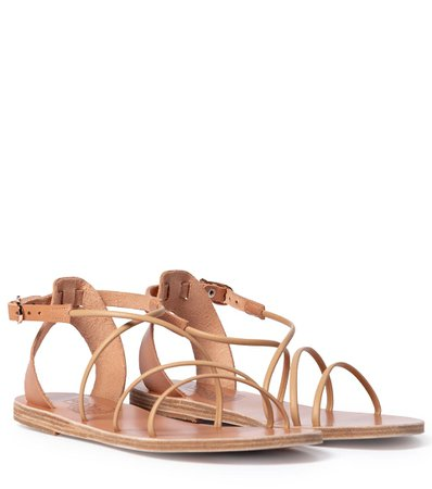 Ancient Greek Sandals - Sandalias Meloivia de piel   Mytheresa