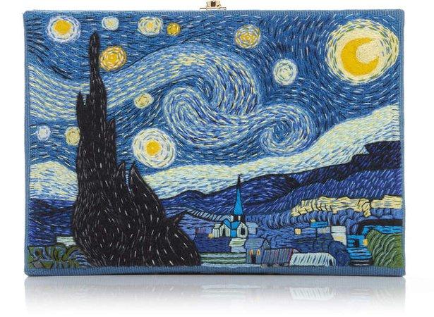 Olympia Le-Tan Van Gogh Clutch
