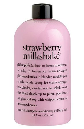 strawberry milkshake bubble bath (philosophy)