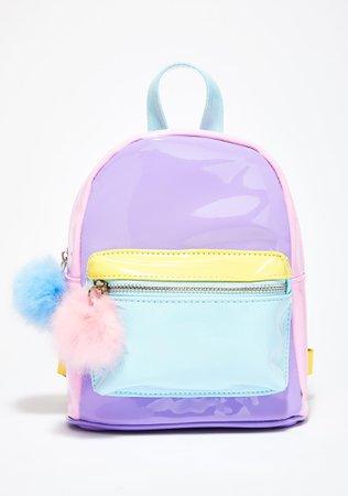 Sugar Thrillz Melted Sherbert Color Block Backpack | Dolls Kill