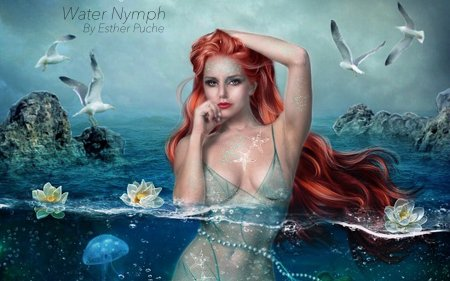 Water Nymph - Fantasy & Abstract Background Wallpapers on Desktop Nexus (Image 2259520)