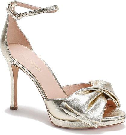 kate spade new york bow ankle strap sandal (Women) | Nordstrom