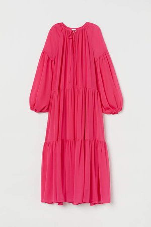 Chiffon Dress - Pink