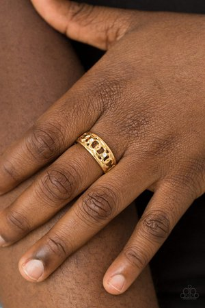 Paparazzi Accessories: Street Cred - Gold