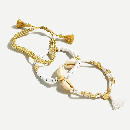 J.Crew: Beachy Beaded Bracelet Set