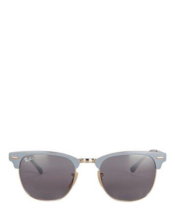 Ray-Ban Clubmaster Round Sunglasses | INTERMIX®