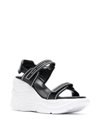 Sarah Chofakian Comfort flatform sandals - FARFETCH