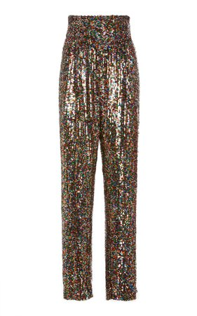 Sequined Tulle Straight-Leg Pants By Rodarte | Moda Operandi