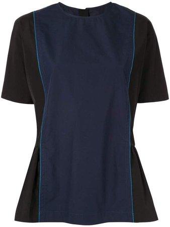 peplum side blouse