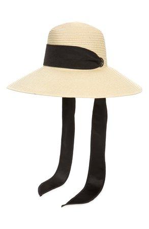 Nordstrom Sash Woven Straw Sun Hat | Nordstrom