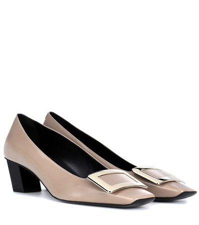 Belle Vivier leather pumps