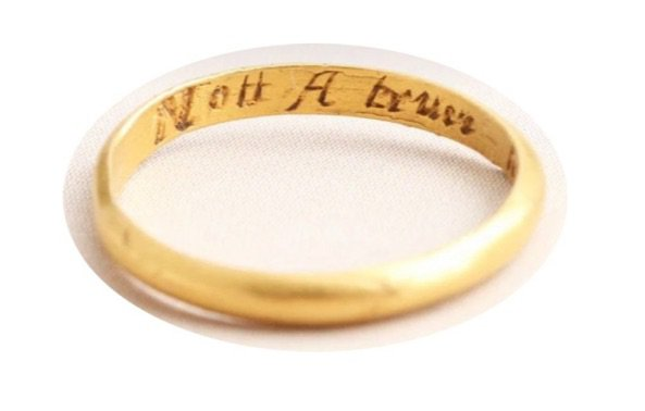 not a truer heart alive ring