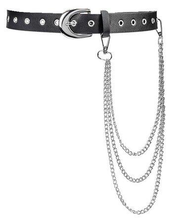 Belt w/ chain