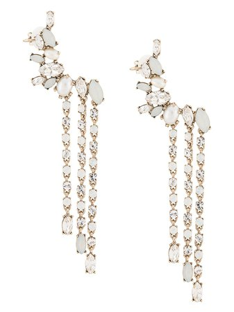 Marchesa Bohemian Dreams Earrings 3305B Metallic | Farfetch