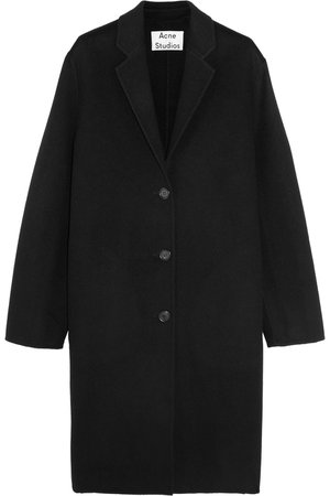 Acne Studios | Avalon Doublé oversized wool and cashmere-blend coat | NET-A-PORTER.COM