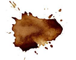 brown coffee splat