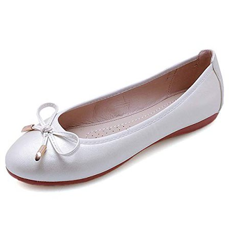 Amazon.com | Slduv7 Women's Ballet Flats Comfort Round Toe Dress Shoes | Flats
