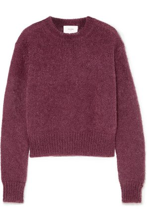BASSIKE Mohair and wool-blend sweater