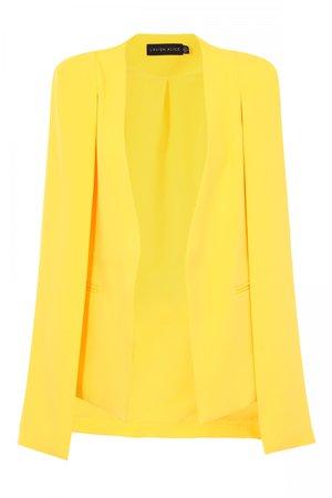 cape blazer yellow