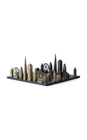 London Bronze And Marble Chess Set by Skyline Chess | Moda Operandi