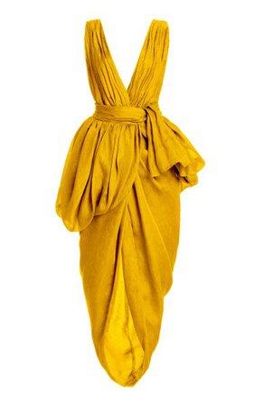 Canna Linen-Silk Dress By Altuzarra   Moda Operandi