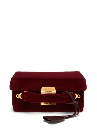 Grace small velvet cross-body bag | Mark Cross | MATCHESFASHION.COM US