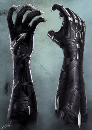 black panther claws