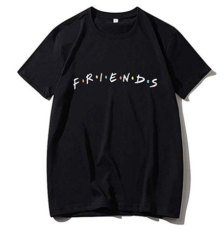 Amazon.com: Unisex Cotton Friend T Shirt Friend TV Show Merchandise Shirt Graphic Tees Tops Tshirt Funny T Shirts Gift T-Shirt (L, Friend t Shirt Black): Clothing