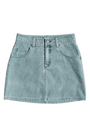 Roxy Linger Longer Corduroy Mini  Skirt | Nordstrom