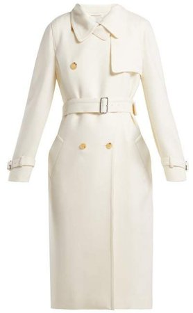 Dalia Coat - Womens - White