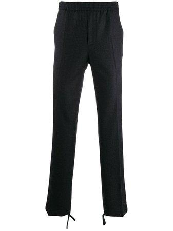 Grey Tie Pants