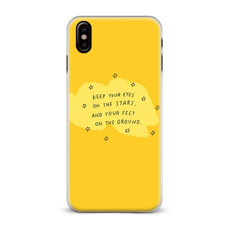 yellow aesthetic phone case