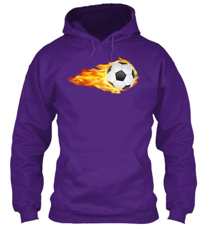 Soccer Ball On Fire Sports Products from Sports Baseball Basketball etc | Teespring