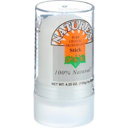 Thai Deodorant Stone Pure Crystal Deodorant Stick 4.25 oz Stick(s) - Swanson Health Products