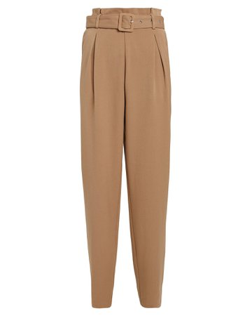 Gestuz | LenoraGZ Belted Gabardine Pants | INTERMIX®