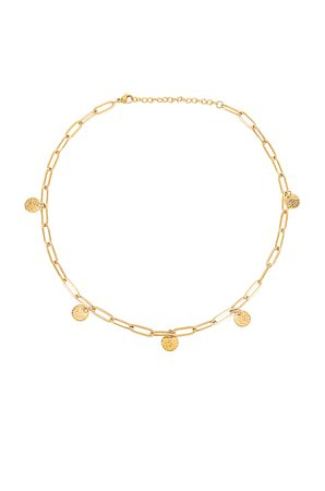 Ellie Vail Madison Necklace in Gold | REVOLVE