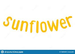 the word sunflower - Google Search