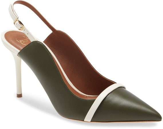 Marion Pointed Toe Slingback Pump