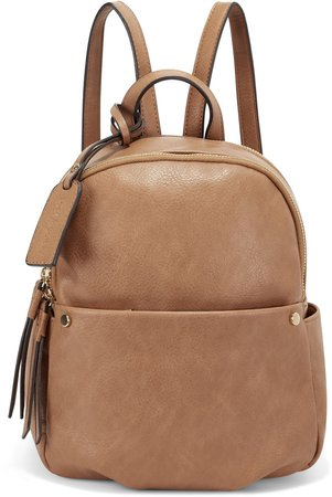 Siena Faux Leather Backpack