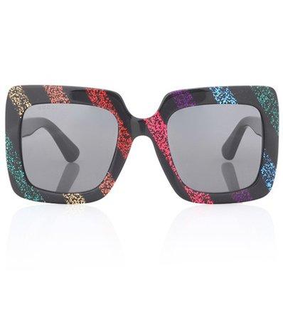 Oversized square sunglasses