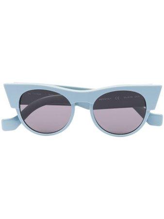 TOL Eyewear Icon round-frame sunglasses blue F2T3CoolGray - Farfetch