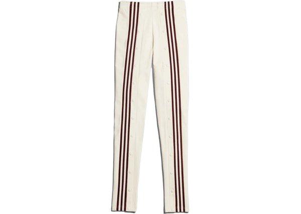 adidas Ivy Park Snap Track Pants Ecru Tint/Maroon - FW19